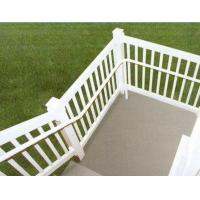 Buy cheap silver Exterior Aluminum Hand Railings with T4 , T5 , T6 Temper from wholesalers