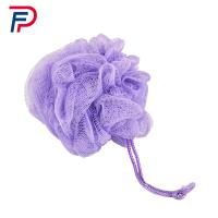 Buy cheap Lovely Mesh Bath Pouf Body Sponge Scrubber , Net Bath Sponge Cordless Bathroom Scrubber,PP BATH SPONGE from wholesalers