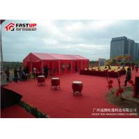 Buy cheap Multi Functional Red Color Wedding Event Tents Marriage Tent 3 - 60 Meter Width from wholesalers