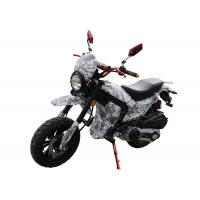 Buy cheap 125cc / 150cc 4 Stroke Gas Dirt Bikes White Plastic Body Black Alloy Wheel from wholesalers