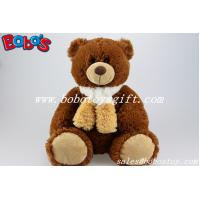 Buy cheap Wholesale Chocolate Teddy Bears With Scarf From China Factory Supplier from wholesalers