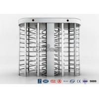 Buy cheap Full High Access Control Turnstile Dual Passage RS485 Communications Interface product