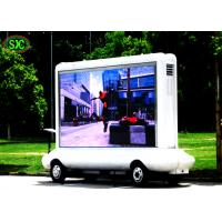 Buy cheap Commercial Truck Mounted LED Screen HD Led Display P5 For Mobile Trailer from wholesalers