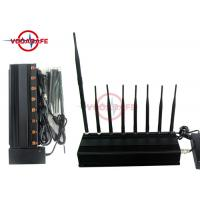 ICNIRP Standards GPS Tracker Jammer , Cell Phone GPS Jammer 5% - 80% Humidity