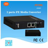 Buy cheap FCTEL OEM Industrial 2 Ports 10/100M UTP Fiber Optic Media Converter from wholesalers
