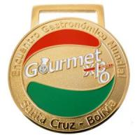 Buy cheap Soft enamel gold plated medal from wholesalers