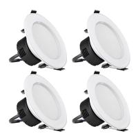 Buy cheap 8W 3.5 Inch LED 400lm Warm White 3000K 90° Beam Angle LED Downlight Recessed Lighting from wholesalers