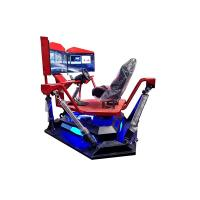 Buy cheap 3 Screen 9D Virtual Reality Race Car Driving Simulator For Indoor Amusement from wholesalers