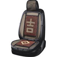 Buy cheap net seat cushion,Red&white auto cushion,wooden beads car seat cushion,130*50cm auto pillow,car seat,130cm  car covers from wholesalers
