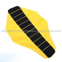 Buy cheap Mx Dirt Bike Parts PVC Ribbed Motorcycle Seat Cover For Suzuki Rm 125 250 from wholesalers