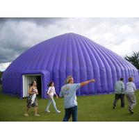 Buy cheap Flexible Outdoor Inflatable Camping Tent Purple Large 420D Oxford Cloth from wholesalers
