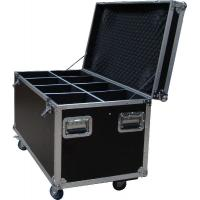 Buy cheap Heavy Duty 20U Standard Rack Flight Case With 9mm Plywood / Trolley Case with Wheels from wholesalers