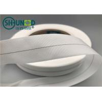 Buy cheap White Woven Garments Accessories Nylon Wrapping Tape With Teflon Coating from wholesalers