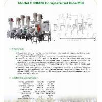 Buy cheap Combined Rice Milling Plant  (CTNM26C) from wholesalers