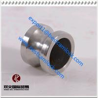 Buy cheap 2 inch 316 stainless steel camlock fittings coupler male plug Type DP from wholesalers
