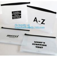 Buy cheap Summer Kit Frosted Ziplock Bag Slider Zipper Bag, underware packing PE material slider zipper bag, slider zipper pvc bag from wholesalers