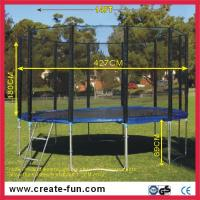 Buy cheap CreateFun Wholesale Kids Outdoor Trampoline 14FT for sale from wholesalers