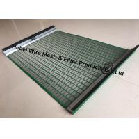 Buy cheap Durable High Penetration Shale Shaker Screen Triple Layer Laminated Wire Mesh product