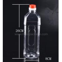 Buy cheap PET 1000ml empty mineral water bottles with screw caps for drinking supply samples from wholesalers