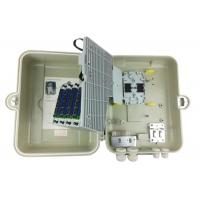 Buy cheap FTTH Fiber Optic Distribution Box 32 Ports SMC Material Cable Termination Box from wholesalers