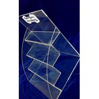 Buy cheap 4 Tiers 3mm Acrylic Stationery Holder Transparent for Umbrella Magazine from wholesalers