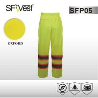 Buy cheap ANSI /ISEA 107-2010 100% polyester fabric Work Wear Pants Reflective Safety from wholesalers