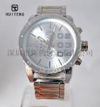 Buy cheap Large-dial watch Big watch Men's watch Alloy watch set Gift watches Men's quartz watch from wholesalers
