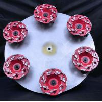 Buy cheap 4 Inch 5 Inch 7 Inch Star Type Segment Grinding Cup Wheel Concrete Gridning Discs diamond cup wheel from wholesalers