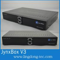 Buy cheap North America Jynxbox Ultra V3 HD FTA Receiver with JB200 and Wifi satellite receiver from wholesalers