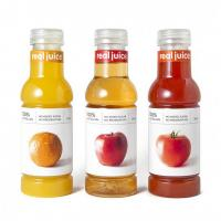 Buy cheap Plastic Adhesive Labels in Creative Classified Fruits Juice Bottles from wholesalers