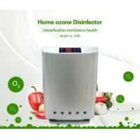 Buy cheap Multi-function Anion Ozone purifier air sterilization water disinfection touch screen displayer remote control from wholesalers