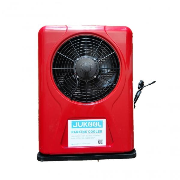 Quality Battery Power DC12V Truck Parking Air Conditioner 9000BTU for sale