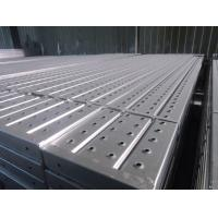 Buy cheap Metal Steel Deck Scaffolding Parts, Q195 Pre-galvanized Steel Plank from wholesalers