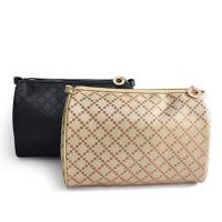Square Nylon Two Compartment Makeup Bag/ Custom Cosmetic Bags 18*7*12 cm