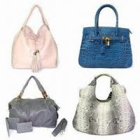 Buy cheap Shoulder Handbags with Tassel and Crocodile Stamp, Made of Python/Ostrich Leather from wholesalers