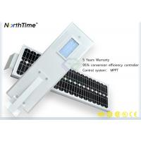 Buy cheap Waterproof Outdoor Solar Street Lights 30w With Cctv Camera ROHS ISO CE from wholesalers