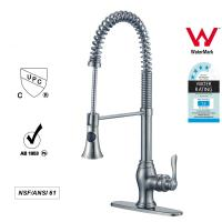 Buy cheap Sanitary Ware Singe Handle kitchen Faucet with Pull out Tap ODM / OEM from wholesalers