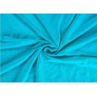 Buy cheap 240 Gsm Spandex Jersey FabricCombed Cotton Soft Feel With Multiple Colors from wholesalers