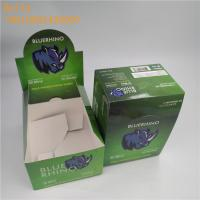 Buy cheap Custom Small Size Counter Display Box Zipper Top Sealing For Coffee Bean from wholesalers
