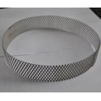Buy cheap 304 Stainless Steel Wire Expanded Mesh Circle As Filter , Metal Mesh Type product