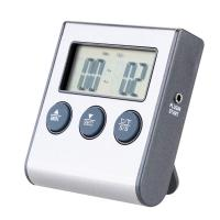 Buy cheap Rushed Digital Thermometer for Oven free Digital Lcd Display Probe Food Thermometer Timer from wholesalers