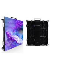 Buy cheap 64*32 Dots Indoor LED Screen Rental Movable Video Wall Panel P4 Die Casting Aluminum from wholesalers