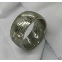 Buy cheap Damascus steel ring from wholesalers