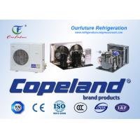 Buy cheap 15 - 90 HP Scroll Parallel Cold Room Compressor Unit Copeland Hermetic from wholesalers