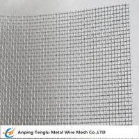 Buy cheap Aluminum Security Screen|18x16 mesh,0.011diameter Wire Mesh for Window/Door from wholesalers