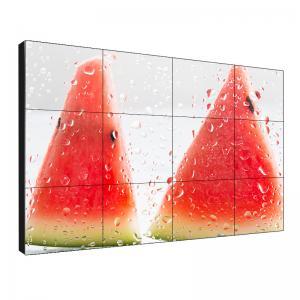 Buy cheap Seamless Fast Response Ultra Thin Bezel Video Wall 46'' 1.7mm Bezel 1 Year Warranty product