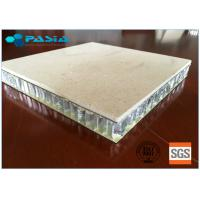 Buy cheap 25 Mm Thickness Lightweight Marble Panels Match Relevant Fire Resistance Standard from wholesalers