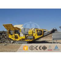 Buy cheap High Chassis Mobile Crushing Equipment Vehicular Convenient Safety Operation from wholesalers