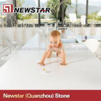 Buy cheap Cheap polished white artificial quartz countertop from wholesalers