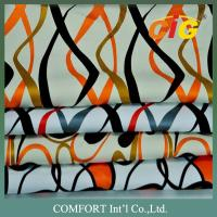 Buy cheap Sofa / Car Seat Cover Printing PU Synthetic Leather 0.8mm - 1.2mm Thickness product